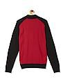 Izod Raglan Sleeve Colour Block Sweater