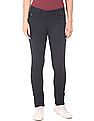 U.S. Polo Assn. Women Flat Front Skinny Trousers