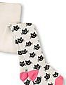 The Children's Place Toddler Girl Intarsia-Knit Kitty Tights