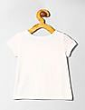GAP Baby White Printed T-Shirt