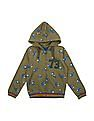 Cherokee Boys Printed Hooded Sweatshirt