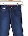U.S. Polo Assn. Kids Boys Skinny Fit Stone Wash Jeans