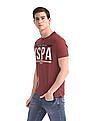 U.S. Polo Assn. Denim Co. Red Printed Cotton Jersey T-Shirt