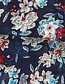SUGR Blue Floral Print Stole