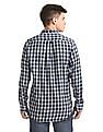 Gant Original Windblown Flannel Indigo Button Down Shirt